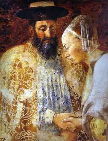 Piero_della_Francesca-_Legend_of_the_True_Cross_-_the_Queen_of_Sheba_Meeting_with_Solomon;_detail